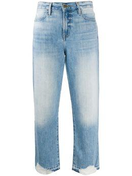 Frame укороченные джинсы Fullerton с эффектом потертости LHWCRH207