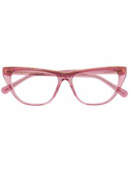 Stella Mccartney Eyewear очки с цепочкой SC0191O