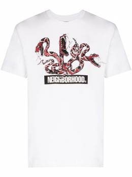 Neighborhood футболка с принтом 201PCNHST14