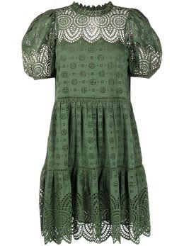 Ulla Johnson платье с английской вышивкой SP200111
