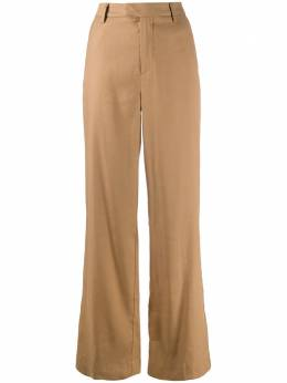 Closed high-waisted wide-leg trousers C9126532L22