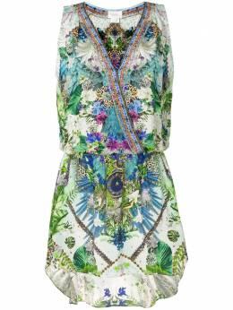 Camilla платье Moon Garden с запахом 00003721