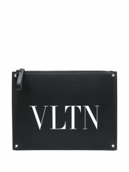 Valentino клатч Valentino Garavani с логотипом VLTN TY0B0692WJW