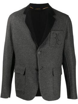 Billionaire кашемировый пиджак с вышитым логотипом BLC65526264