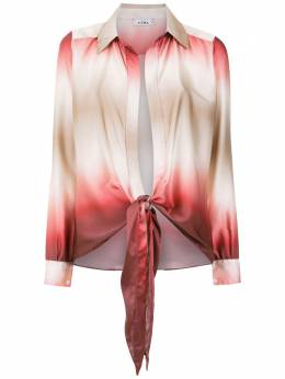 Amir Slama gradient silk shirt 10724