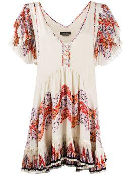 Isabel Marant платье с оборками RO172420E014I