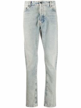 Palm Angels джинсы кроя слим с логотипом PMYA012E20DEN0024001