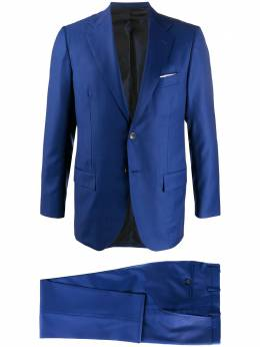 Kiton костюм с однобортным пиджаком UA81K06S545001
