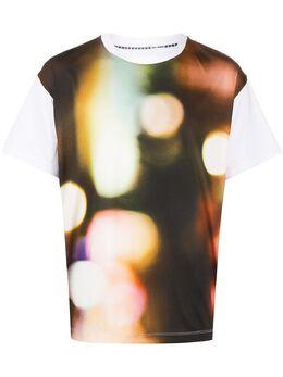 Fumito Ganryu футболка с принтом FU3CU15
