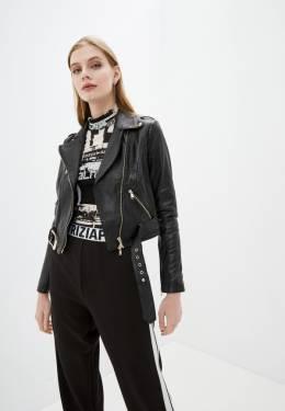 Куртка кожаная Patrizia Pepe 2L0874