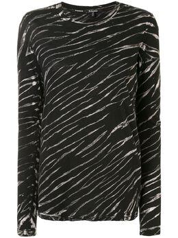 Proenza Schouler футболка с длинными рукавами и принтом тай-дай R2014021JCP11