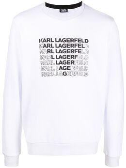 Karl Lagerfeld толстовка с логотипом 7050180501900