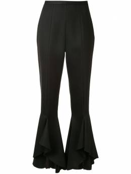 Giambattista Valli брюки с завышенной талией и оборками 20SSRVCA300531HCR