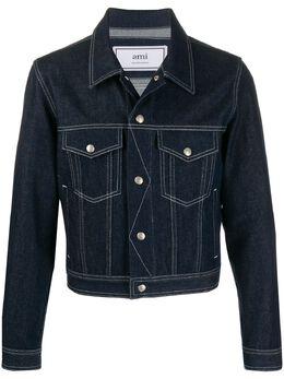 Ami джинсовая куртка A20HD425614