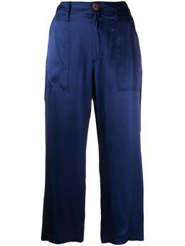 Jejia two-tone cropped trousers P4B205026
