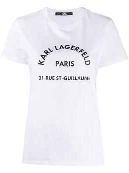 Karl Lagerfeld logo print T-shirt 200W1741100