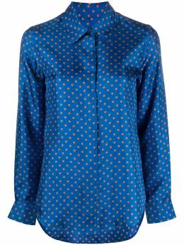 Alberto Biani floral-print silk shirt ABMM870SE3103