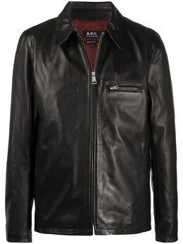 A.P.C. куртка на молнии PXBKUH02502