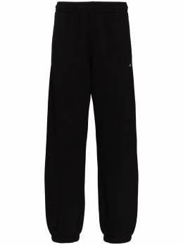 Off-White спортивные брюки кроя слим с принтом Caravaggio OMCH029E20FLE0091010