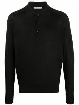 The Row Dylan long-sleeve polo shirt 113Y83