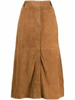 Arma button up skirt 005L20105302