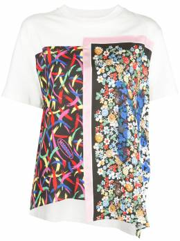 M Missoni футболка с принтом и вставками 2DJ001012W004G