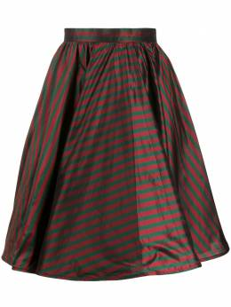 Gucci Pre-Owned 1990s stripe print silk skirt GUCCISTRIPESKIRT