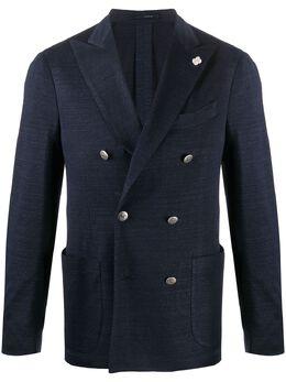Lardini двубортный пиджак EI583AEH80EIRJ54577