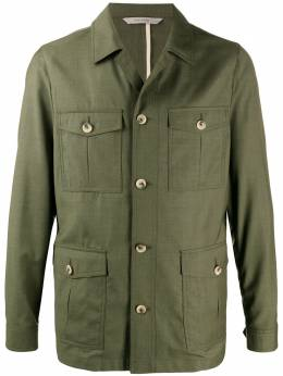 Canali single-breasted fitted jacket SR01620030178