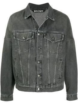 Palm Angels джинсовая куртка с логотипом PMYE006E20DEN0021001
