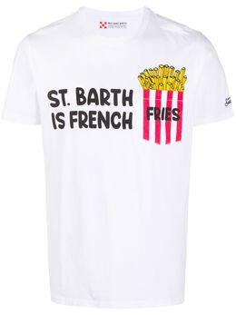 Mc2 Saint Barth slogan graphic print T-shirt AUSTIN
