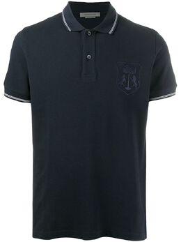 Corneliani рубашка поло с вышитым логотипом 85G5720125050