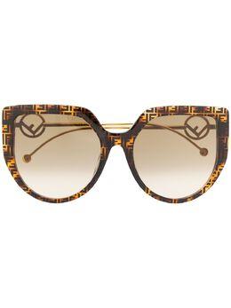 Fendi Eyewear солнцезащитные очки F is Fendi 20329908658HA