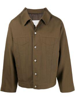 Maison Margiela куртка оверсайз S30AM0508S52705