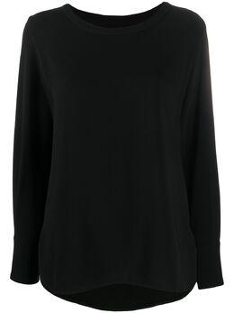 Alberto Biani блузка с круглым вырезом ABMM824AC0028