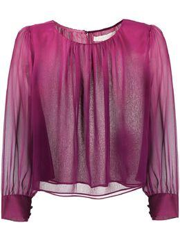 Jonathan Simkhai блузка с эффектом деграде 1202065SW