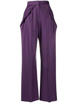Materiel брюки с подворотом на талии SS20LAN855PAPP