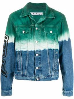 Off-White Arrows tie-dye denim jacket OMYE054E20DEN0024510