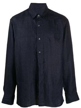 Ann Demeulemeester рубашка оверсайз 20073602165