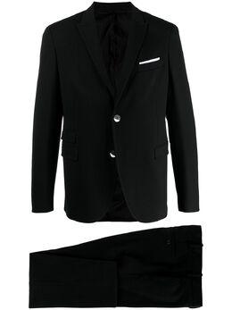 Neil Barrett костюм-двойка узкого кроя PBAB172N015