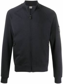 Corneliani zip-up logo jacket 85G5840125060