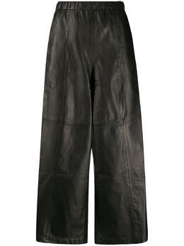 Alysi укороченные брюки с контрастными вставками 200103P0046