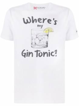 Mc2 Saint Barth Gin Tonic print T-shirt TSHIRTMAN