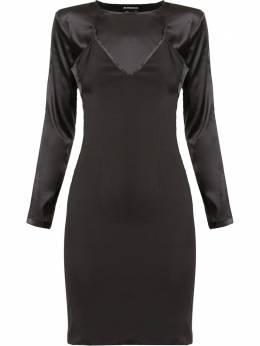 Ann Demeulemeester приталенное платье Bleary 20012236108