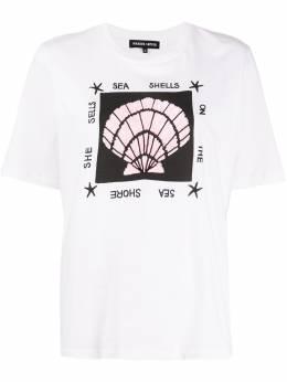 Markus Lupfer футболка Alex Seashells TEE391