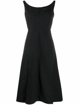 Rokh расклешенное платье без рукавов R6CA144