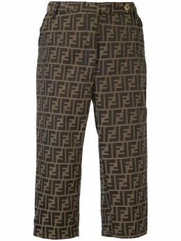 Fendi Pre-Owned шорты с принтом FF 0156032166960024018XH