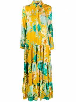Gianluca Capannolo платье-рубашка с цветочным принтом 20EA1156450
