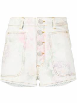 Sandro джинсовые шорты Flow с цветочным принтом SFPSH00085
