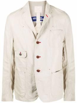 Junya Watanabe Man однобортный пиджак с накладными карманами WEJ037S20